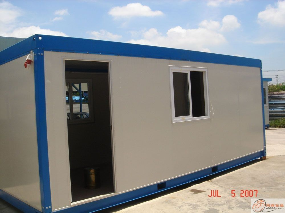 Steel Modular House / Modular House used for a variety of purposes including storage, work spaces