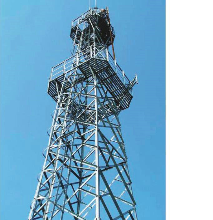 High Strength Steel Building Structures For Communication Tower, Transfer Tower
